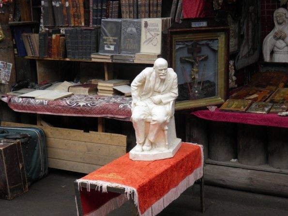 Στη λαικη αγορα του Izmaylovski park