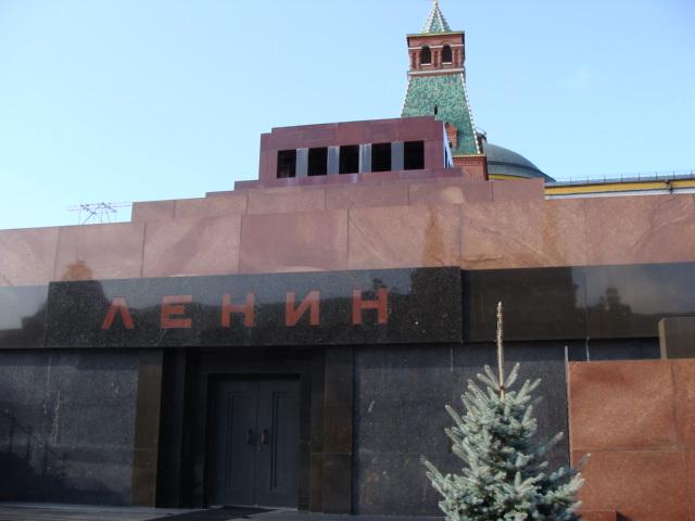 εδώ το μαυσωλείο του στη Μόσχα