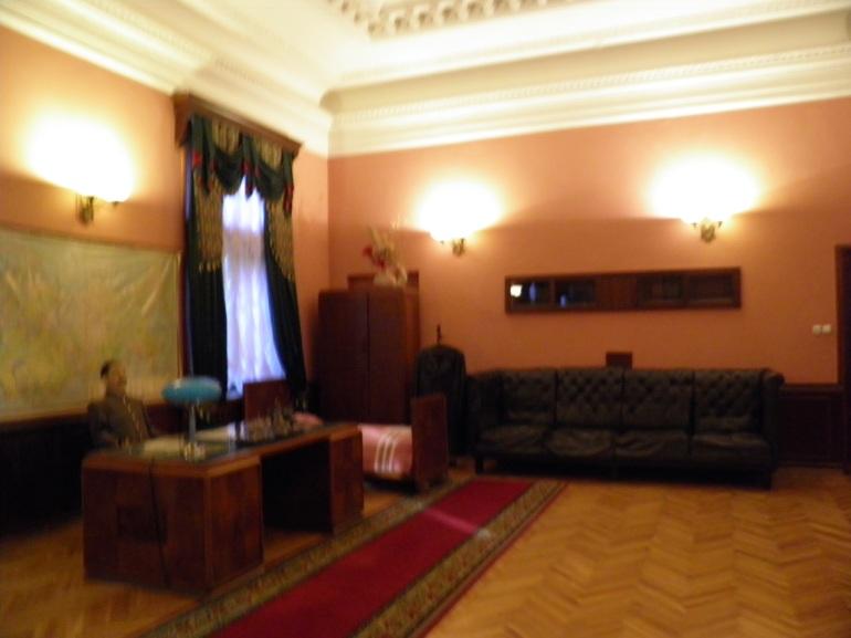 Το γραφείο του Στάλιν στο εξοχικό του .