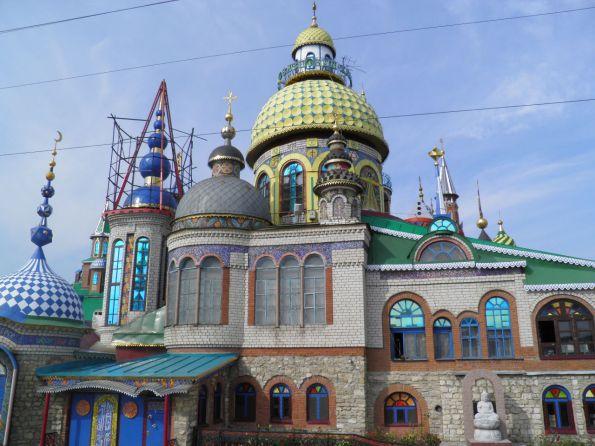 η περιοχη οπου κτιζονται οι ναοι ολων των Θρησκειων .